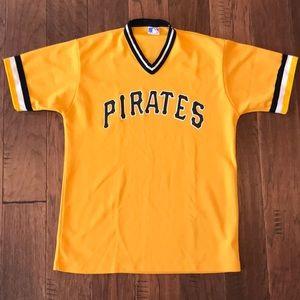 Vintage Pittsburgh Pirates V-neck baseball Jersey